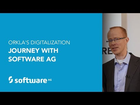 Orkla's Digitalization Journey with Software AG