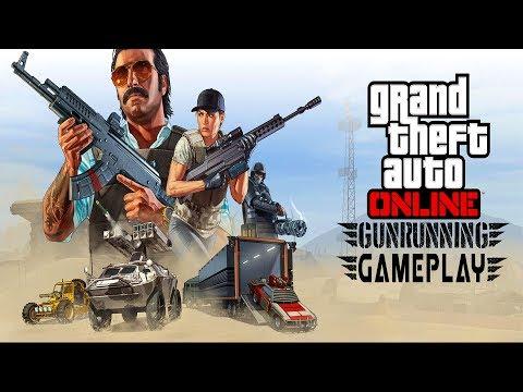 GTA Online Gunrunning DLC Bunker Modes Gameplay