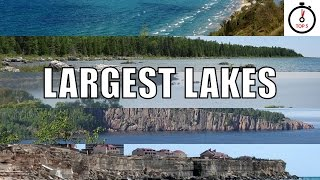 Top 5 largest lakes