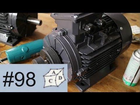 Erweiterung Drehmaschine um Drehstrommotor und FU. Part 2 - YouTube