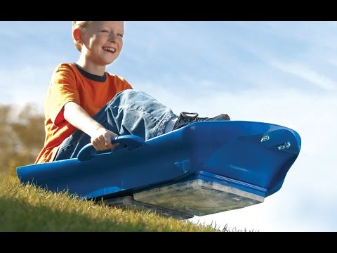 Go sledding this winter. And spring. And summer.