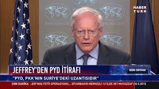 Jeffrey'den PYD itirafı