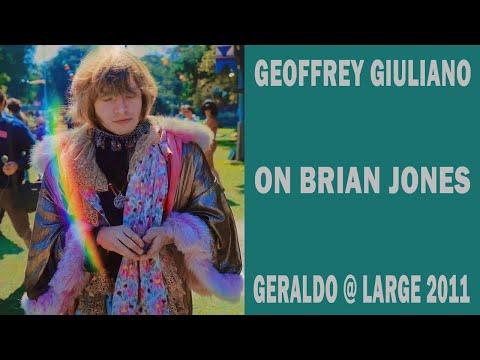 Geoffrey Giuliano Speaking About Brian Jones on