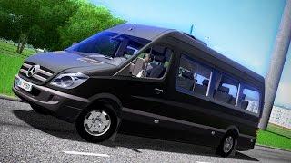 City Car Driving 1.5.3 Mercedes-Benz Sprinter Logitech G27 [1080p][60fps]