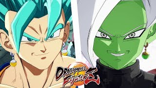 VEGETTO BLUE VS ZAMASU FUSIONNÉ | DRAGON BALL FIGHTERZ