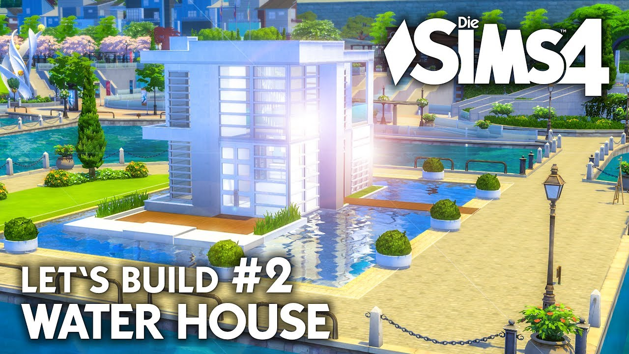 Modernes die sims 4 haus bauen water house 2 let 39 s for Modernes haus sims 4