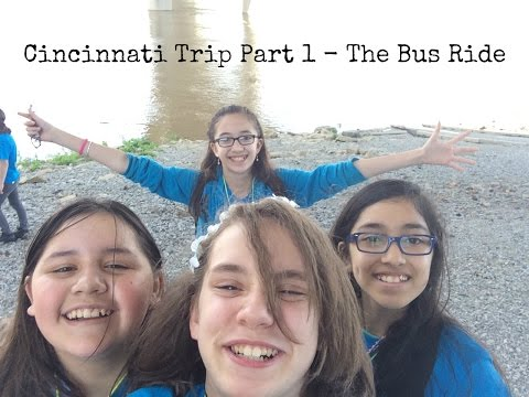 Cincinnati Trip Part 1 - The Bus Ride