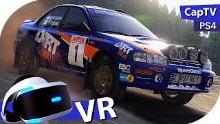 Dirt Rally VR  - Helmet Cam - OnBoard - 3 Stages Finland - McRae's Subaru - VR Rally - PS4 Pro
