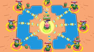 SATISFYING GUARD RICO! Brawl Stars Funny Moments & Fails & Win #159