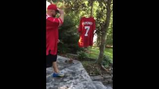 49ers Fan Burns Colin Kaepernick's Jersey to National Anthem