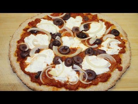 صورة  طريقة عمل البيتزا طريقة عمل البيتزا الصحية بالدقيق الاسمر - بيتزا دايت - Whole Wheat Pizza طريقة عمل البيتزا من يوتيوب