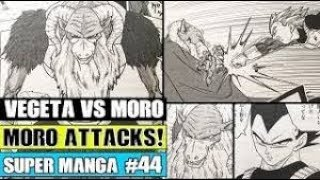 MORO VS VEGETA! Moro Revealed On Namek! Dragon Ball Super Manga Chapter 44 LEAKS!