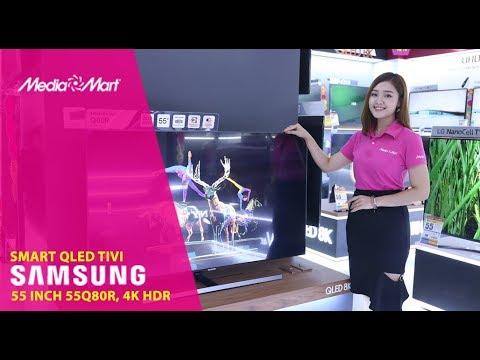QLED Tivi Samsung 4K 55inch 55Q80R 2019 - Rực rỡ trên mọi góc nhìn