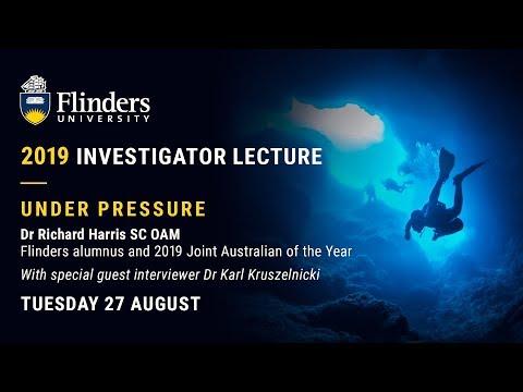 2019 Investigator Lecture - Dr Richard Harris SC OAM