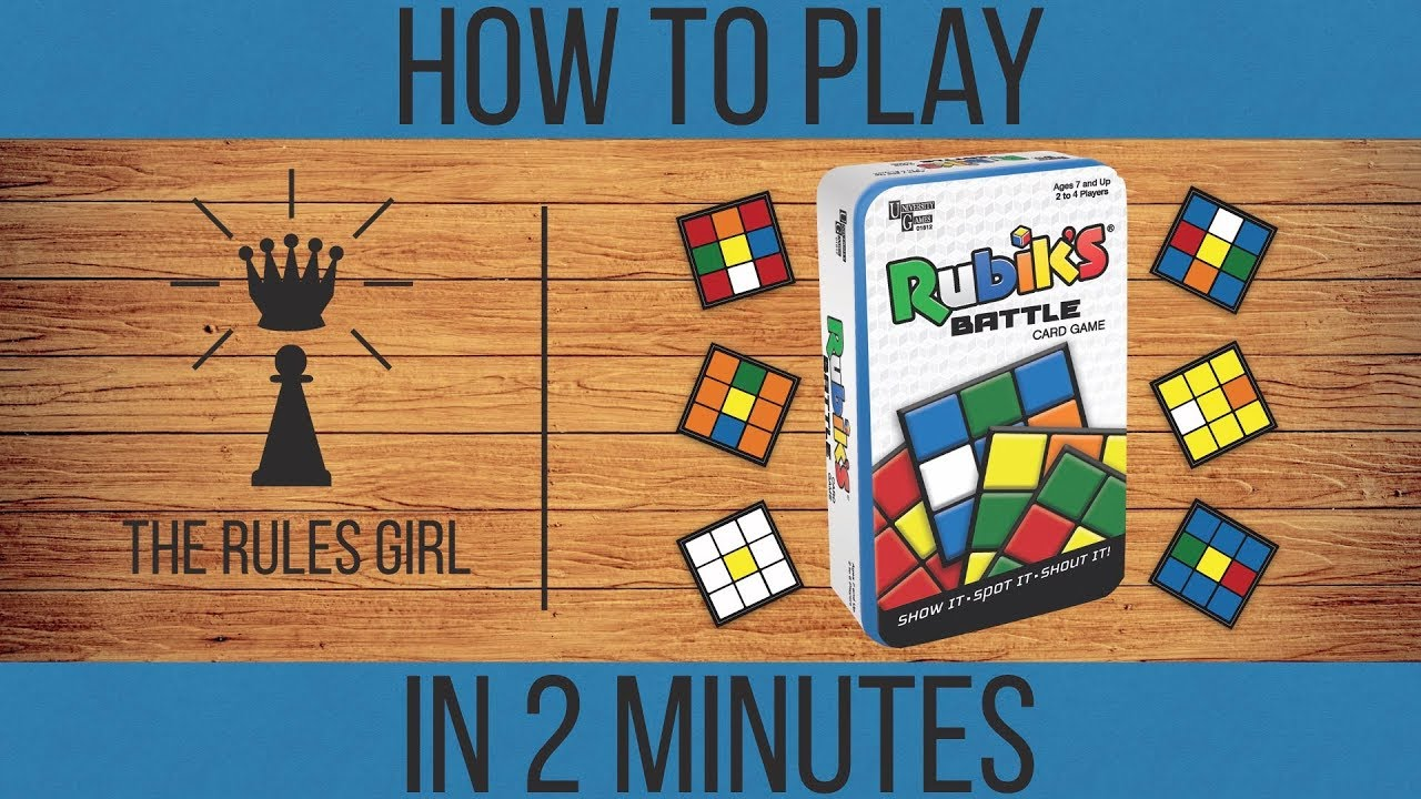 How To Play Rubik S Battle In 2 Minutes The Rules Girl