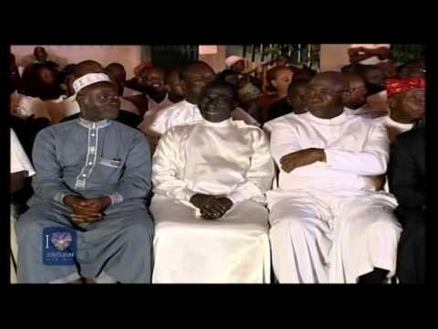 Abidjan ville lumière: Lancement du festival en présence de Dominique Ouattara