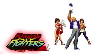 Ranking of Fighters 0045: Godzilla: Monster War & The King of Fighters '96