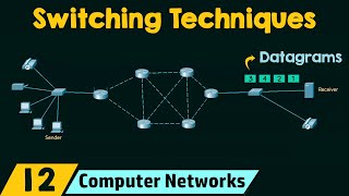Switching Techniques in Computer Networks