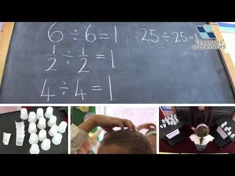 สอนหารด้วยแก้วกระดาษ (คณิตศาสตร์) - KS1/2 Maths : Just Divisions