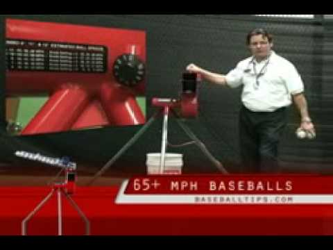 The Heater Baseball & Softball Pitching Machine