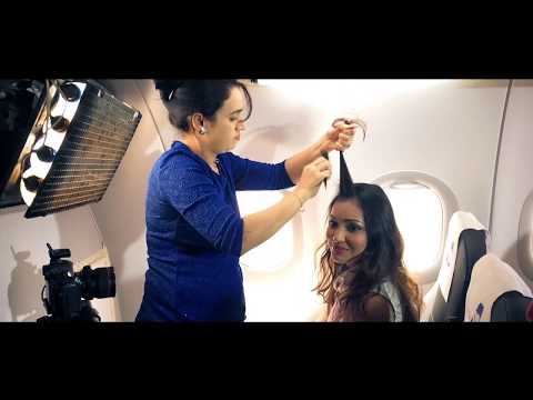 Photoshoot With GoAir | Behind The Scenes