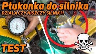 Płukanka do silnika działa czy niszczy silnik??! WIELKI TEST !!