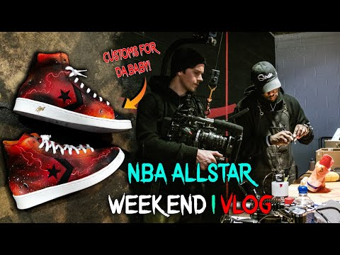 VLOG | Painting live at NBA ALL STAR CHICAGO w Sierato