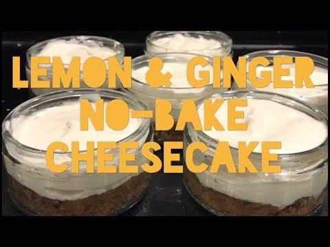 The BEST Ever No-Bake Lemon & Ginger Cheesecake - 15 Mins Prep | @TryToCookLikeMum