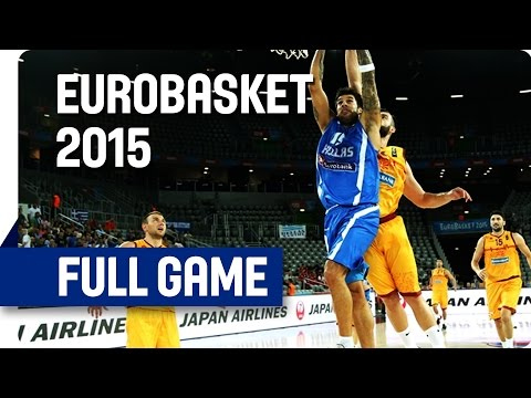 FYR Macedonia v Greece - Group C - Full Game - Eurobasket 2015