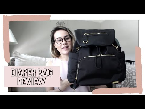 Skiphop Downtown Chelsea Backpack Diaper Bag Review