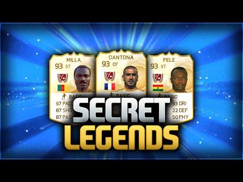 OMG!! SECRET LEGEND CARDS!?!?! - FIFA 15