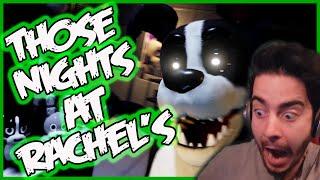 NEW ANIMATRONICS... | Those Nights at Rachel's Night 3 & 4 | Five Nights at Freddy's 4 Fan Game