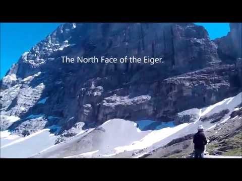 Eiger Trail Hiking Grindelwald Switzerland July 2016 Alps Alpine