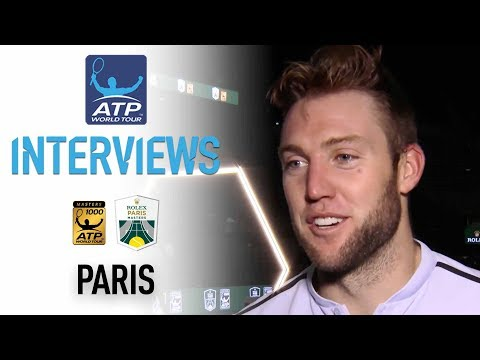 Sock Reacts To First Masters 1000 Title In Paris 2017