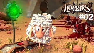 FLOCKERS: #002 - Schaf-Blut - Let's Play Flockers Deutsch / German
