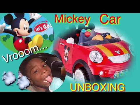 OMG TOYS R US GAVE ME MY FIRST CAR!!| MICKEY MOUSE CLUBHOUSE On WHEELS🚗💨💨