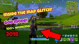 Fortnite bataille Royale glitch (Best Glitch) Mode Dieu sous la carte PS4/Xbox 2018