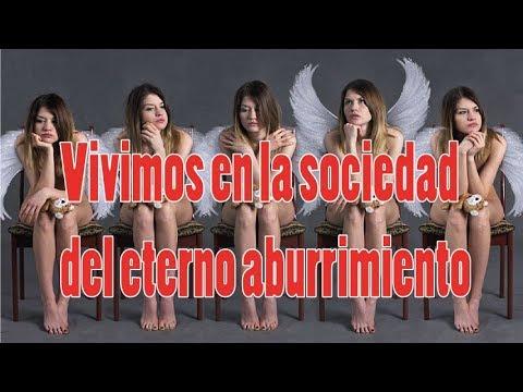 Vivimos en la sociedad del eterno #aburrimiento