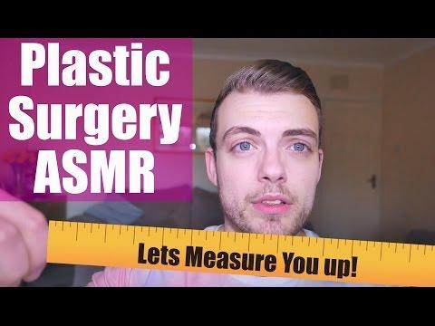 *ASMR* Binaural Plastic Surgery- Measuring! 📏