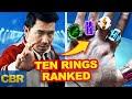 Marvel Shang-Chi Rings: 10 Magical Powers Ranked
