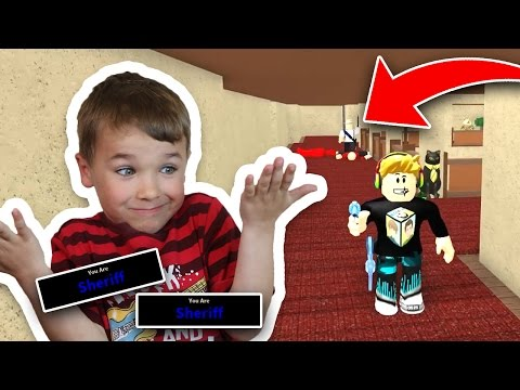 DAD TRIED TO TRICK ME BACK AS A MURDERER | ROBLOX MURDER MYSTERY 2 | BEING A SHERIFF MULTIPLE TIMES