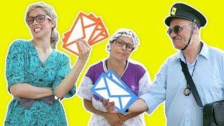 فوزي موزي وتوتي – التيتا فوزية وساعي البريد – Teta Foziya and the mail thumbnail