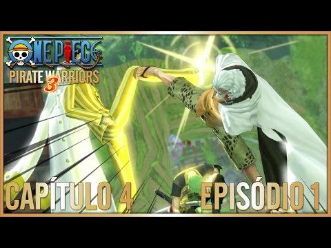 One Piece Pirate Warriors 3 - Cap 4 - Ep1 - Adventure on the Archipelago of Dancing Soap Bubbles