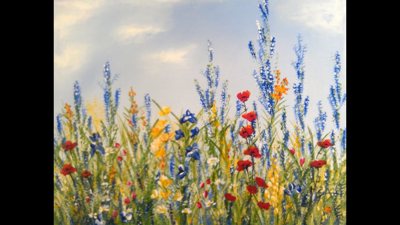 Acrylic Painting Prairie