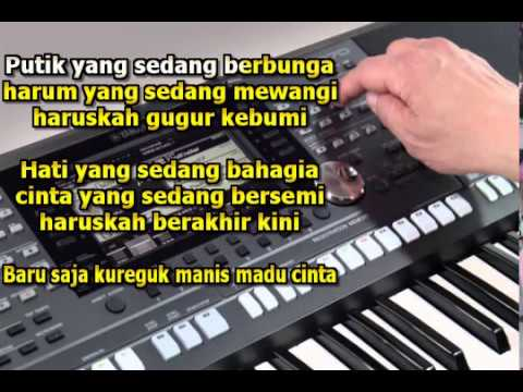 Haruskah Berakhir Ridho Rhoma Karaoke Dangdut Koplo Keybord Yamaha PSR 970