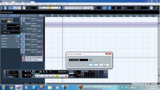 Cubase Template Tutorial - Save Precious Time With Templates