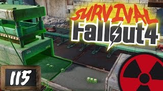 FALLOUT 4 - SURVIVAL - 115 Die beste Fabrik aller Zeiten  DEUTSCH Lets Play Fallout 4