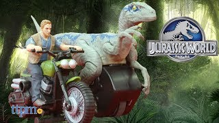 Jurassic World RIP RUN DINOS OWEN /& MOTORCYCLE FIGURE AND VEHICLE SET