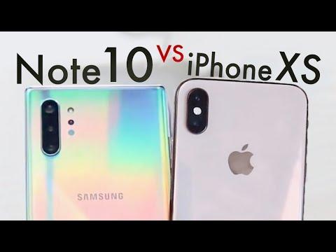 Samsung Galaxy Note 10 Vs iPhone XS Camera Comparison