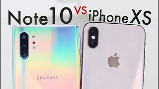 Samsung Galaxy Note 10 Vs iPhone XS! (Camera Comparison)